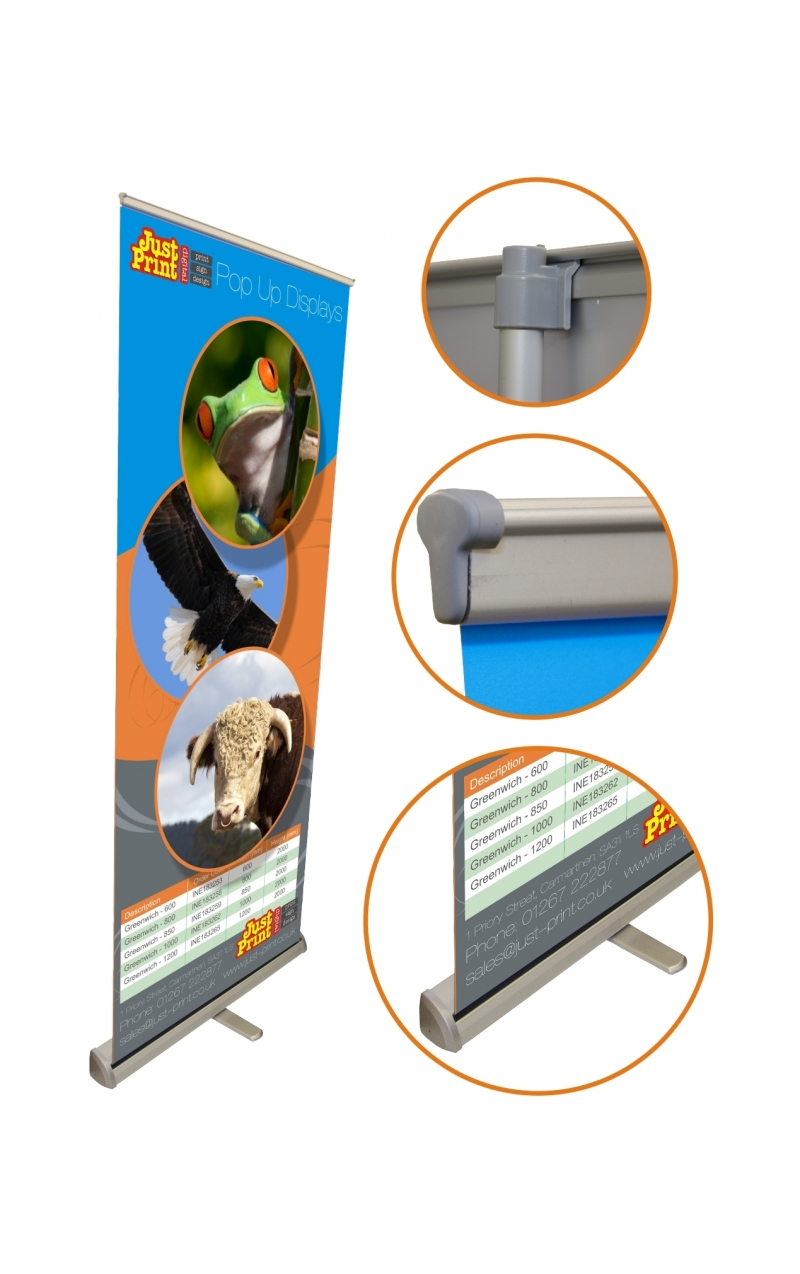 Deluxe Pull Up Banner Just Print Digital