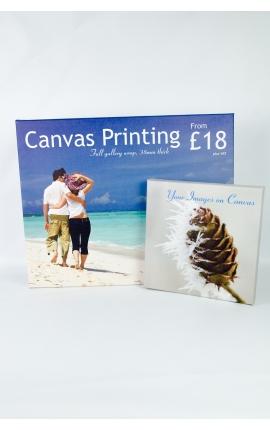 Canvas Print 20''x20''x 38mm deep