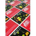 1000 x Recycled Single Sided Business Cards on 350gsm card