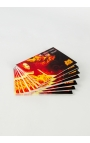 Business Cards, 100 x Single Sided on 350gsm Silk card