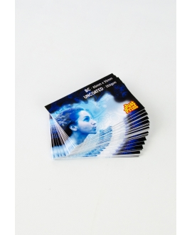 500 x Uncoated Double Sided Business Cards on 350gsm card