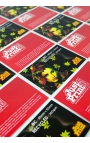 Business Cards, 250 x Single Sided on 350gsm Recycled card