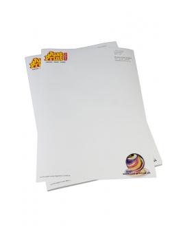 250  A4 100gsm Bond Letterheads