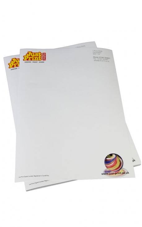 100  A4 100gsm Bond Letterheads
