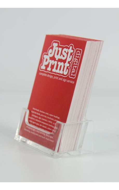 A single portrait business card holder just print digital a single portrait business card holder colourmoves