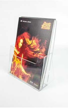 A Pair of A5 Portrait Leaflet Holders