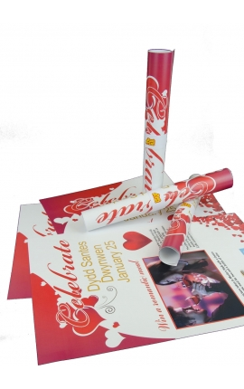 25 Budget 150gsm Double Sided A3 Posters