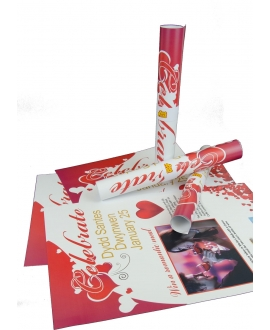 250 Deluxe 250gsm Double Sided A3 Posters