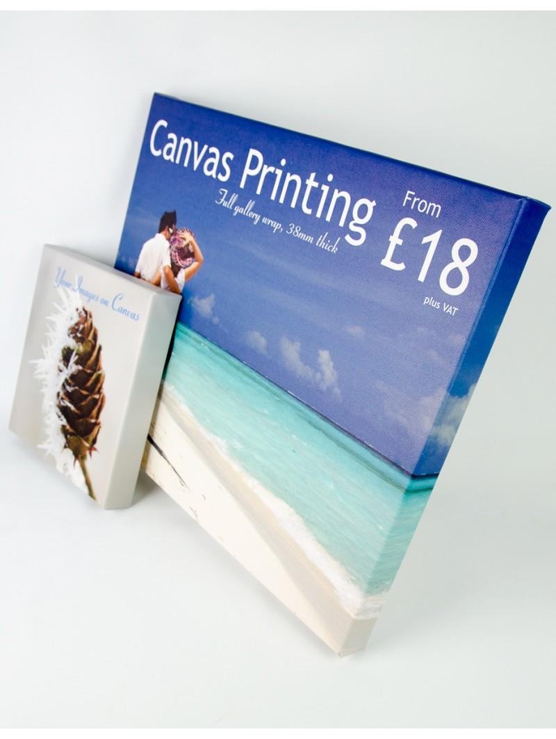 Canvas Print 24'' x 12'' x 38mm deep