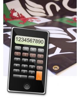 Banner Calculator