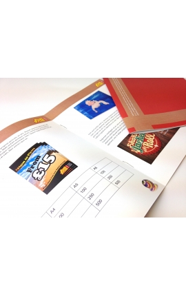 500 x 8 Page A6 Booklets or Brochures