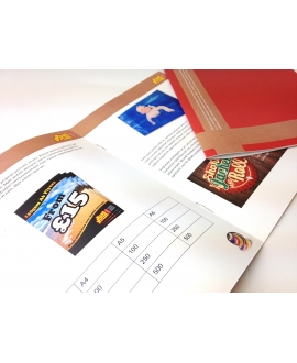 1000 x 12 Page DL Booklets or Brochures