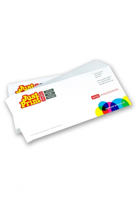 100 DL 100gsm Bond Compliment Slips