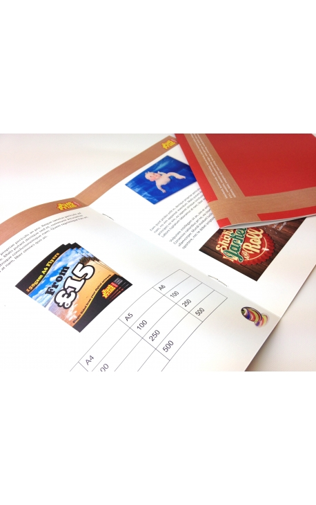 100 x 20 Page A6 Booklets or Brochures