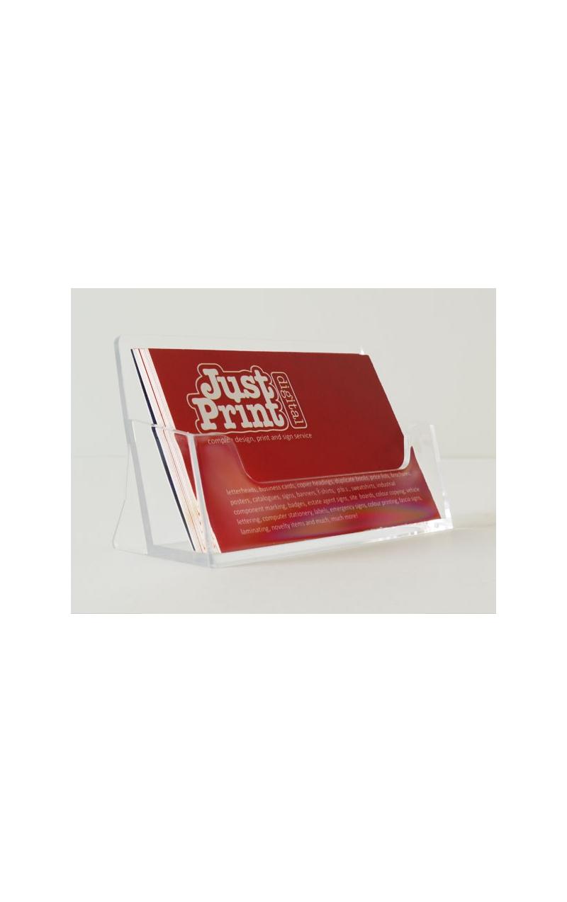 A Single Landscape Business Card Holder - Just Print Digital