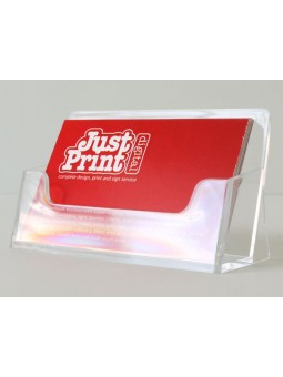 A Single Landscape Business Card Holder