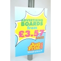 8 Lamp post Advertising Boards 24 x 16""