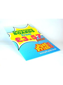 """Lamp post Advertising Boards 24 x 16"""" (24 pack)"""