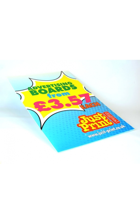 "Lamp post Advertising Boards 24 x 16"" (50 pack)"