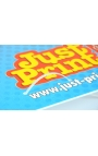 """Lamp post Advertising Boards 24 x 16"""" (50 pack)"""
