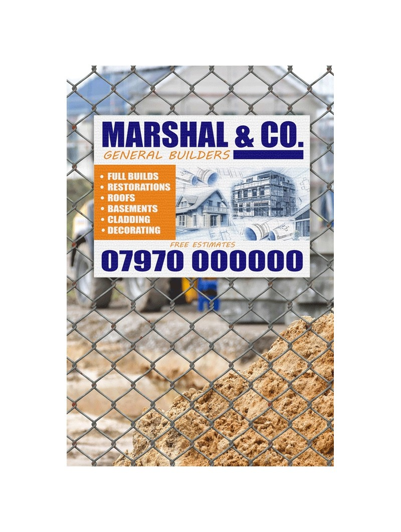 Builders Site Board