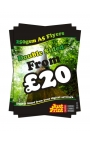 50 A5 Double Sided Flyers on 250gsm
