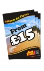 100 A5 Single Sided Leaflets on 150gsm