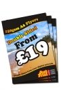 1500 A6 Double Sided Flyers on 150gsm