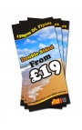 2500 DL Double Sided Leaflets on 150gsm