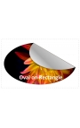 300x50mm Rectangle Stickers Qty 75