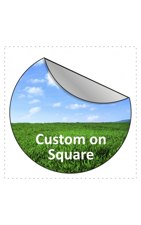 100x100mm Square Stickers Qty 75