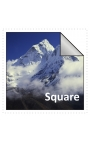 100x100mm Square Stickers Qty 125