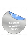 125x125mm Square Stickers Qty 75