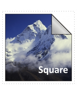 125x125mm Square Stickers Qty 1000