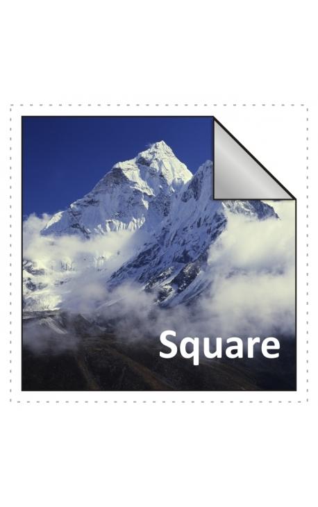 125x125mm Square Stickers Qty 125