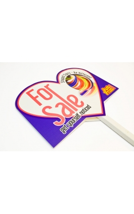Shaped Estate Agent T Boards