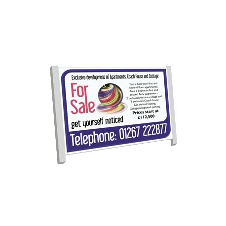 Commercial Estate Agent Boards 6ft x 4ft