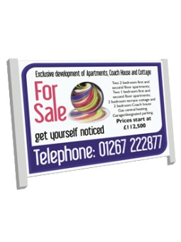 Commercial Estate Agent Boards 8ft x 4ft