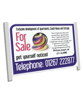 8ft x 4ft Commercial Estate Agent Boards