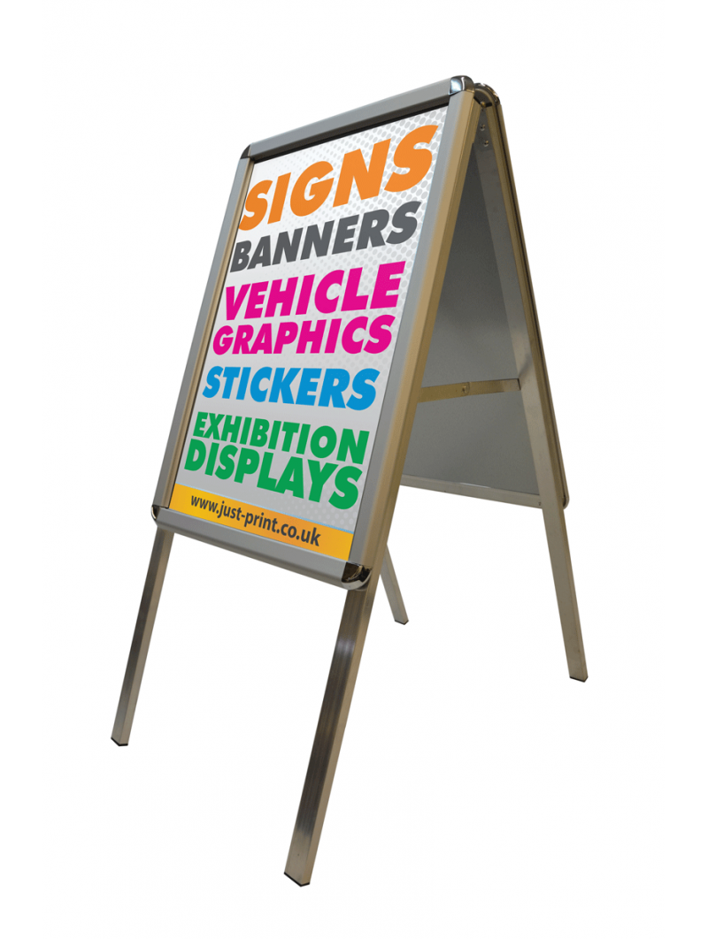 Poster Pavement Sign