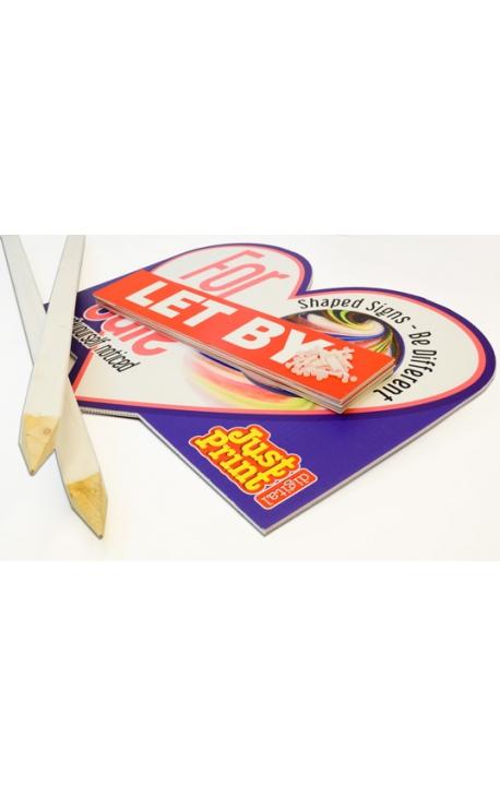 25 Shaped T-Board, Slip & Post Pack