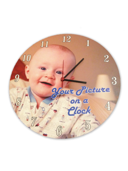 Personalized Printed Clock