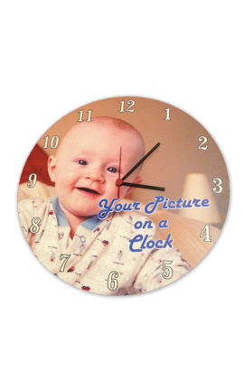 Personalised Printed Clock