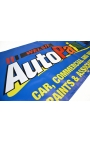 """8ft x 2ft 6"""" Banner printed with your design"""