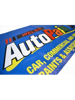 "10ft x 2ft 6"" banner printed with your design"