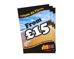 A5 Single Sided 150gsm Flyers