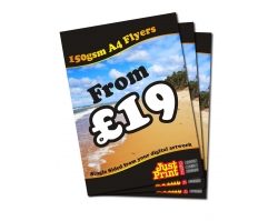 A4 Single Sided 150gsm Leaflets