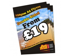 A5 150gsm Double Sided Flyers