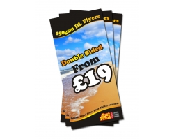 DL 150gsm Double Sided Flyers