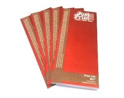 12 Page DL Booklet or Brochure